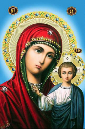 Kazansʹkoí̈ icon of God's mother - Let her protect your family from all troubles and give health!